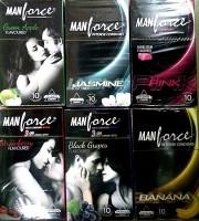 Manforce Mix Condom(Set of 6, 60S)