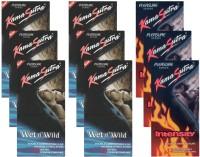 KamaSutra Wet n Wild, Intensity - UPFK200290 Condom(Set of 9, 108S)