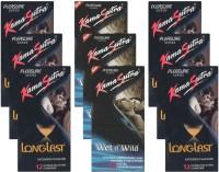 KamaSutra Longlast, Wet n Wild - UPFK200399 Condom(Set of 9, 108S)