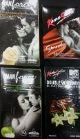 Manforce Kamasutra 42 Pcs Combo- Butterscotch, Green Apple, Smooth, Double Whammy Condom(Set of 4, 42S)