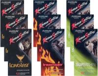 KamaSutra Longlast, Intensity, Superthin - UPFK200409 Condom(Set of 9, 108S)