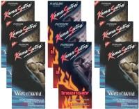 KamaSutra Wet n Wild, Intensity - UPFK200300 Condom(Set of 9, 108S)