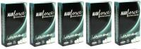 Manforce Intense Jasmine Flavoured 50 pc Condom(Set of 5, 50S)
