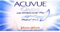Johnson & Johnson Acuvue Oasys Bi-weekly Contact Lens(-10.5, Transparent, Pack of 6)
