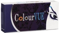 ColourVUE Eyelush By VisionsIndia 3 Monthly Contact Lens(Brown-0.00, Brown, Pack of 2)