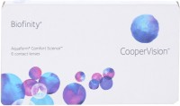 Cooper Vision Biofinity Monthly Contact Lens(-4.25, Plano Clear, Pack of 6)