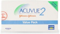 Johnson & Johnson ACUVUE 2 (UV BLOCKING) Bi-weekly Contact Lens(-5.75, transparent, Pack of 12)