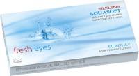 Aquasoft Fresheyes Monthly(-3.00, Contact Lenses, Pack of 6)