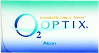 Alcon O2 Optix Monthly Contact Lens(-10, Clear, Pack of 6)