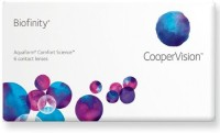 Cooper Vision Biofinity Monthly Contact Lens(-4.25, Transperant, Pack of 6)