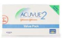 Johnson & Johnson Acuvue 2 Value Pack Bi-weekly Contact Lens(-2.75, Transparent, Pack of 12)