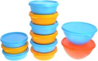 Herware 104-06  - 5700 ml Plastic Grocery Container(Pack of 11, Multicolor)
