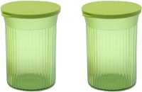 Tupperware  - 630 ml Plastic Grocery Container(Pack of 2, Green)