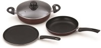 Padmini LSP01 Induction Bottom Cookware Set(Aluminium, 3 - Piece)