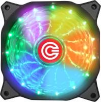Circle CG 16X7C Multi Colour Gaming Fan Cooler(Multicolor)