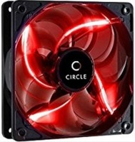 Circle LED Fan CG 12 Red Cooler