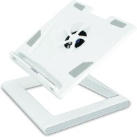 View Defianz Desk Stand Cooling Pad(White) Laptop Accessories Price Online(Defianz)