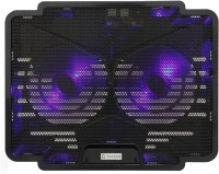 View Tarkan Dual Fan Cooling Pad(Black) Laptop Accessories Price Online(Tarkan)