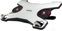 Zebronics ZEB NC4000 Cooling Pad(White & Black)