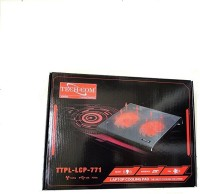 Techcom TTPL-LCP-771 Cooling Pad(Black)