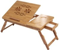 Sterling Wood Portable Laptop Table(Finish Color - Brown)