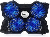 View Tarkan 4 Fans Cooling Pad(Black) Laptop Accessories Price Online(Tarkan)