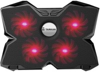 View Tarkan Heavy Duty Cooling Pad(Black, Red) Laptop Accessories Price Online(Tarkan)