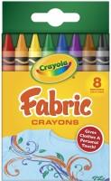 Crayola Triangular Shaped Wax Crayons(Set of 8, Multicolor)