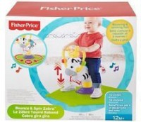Fisher-Price Bounce and Spin Zebra(Multicolor)