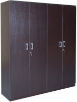 HomeTown Prime 4 Door Wenge Engineered Wood Almirah(Finish Color - Wenge)