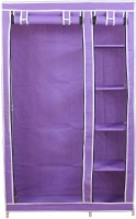 View Novatic Metal 2 Door Wardrobe(Finish Color - Purple) Furniture (Novatic)