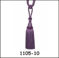 Tophome.in Purple Tieback Hook(Pack of 2)