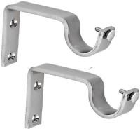 Katarias Silver Rod Rail Bracket(Pack of 2)