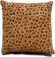 Homeblendz Abstract Cushions Cover(40 cm*40 cm, Black, Brown)