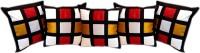Urban Arts Geometric Cushions Cover(Pack of 5, 40 cm*40 cm, Multicolor)