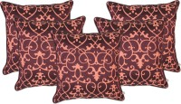 Zubix Abstract Cushions Cover(Pack of 5, 40 cm*40 cm, Purple)