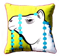 Homeblendz Abstract Cushions Cover(40 cm*40 cm, Multicolor)