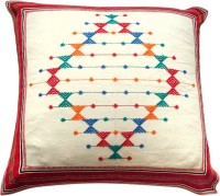 Aamori Embroidered Cushions Cover(60 cm, Multicolor)