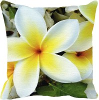 Leaf Designs Printed Cushions Cover(31 cm*31 cm, Multicolor)