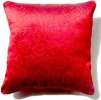 Homeblendz Abstract Cushions Cover(40 cm*40 cm, Maroon)