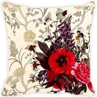 Fabulloso Printed Cushions Cover(40.64 cm*40.64 cm, Multicolor)