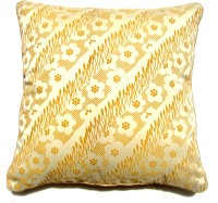Homeblendz Abstract Cushions Cover(40 cm*40 cm, Yellow)