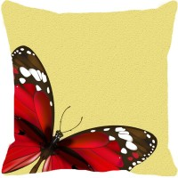 Leaf Designs Abstract Cushions Cover(41 cm*41 cm, Red)