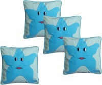 Hugs N Rugs Embroidered Cushions Cover(Pack of 4, 40 cm*40 cm, Multicolor)