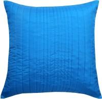 Ans Floral Cushions Cover(40 cm*40 cm, Blue)