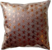 Homeblendz Abstract Cushions Cover(40 cm*40 cm, Brown)