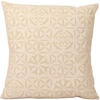 Fabulloso Checkered Cushions Cover(41 cm*41 cm, Beige)