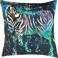 Indian Colours Animal Cushions Cover(41 cm*41 cm, Dark Green)