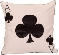 Band Box Embroidered Cushions Cover(40.64 cm*40.64 cm, White)