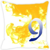 Leaf Designs Abstract Cushions Cover(41 cm*41 cm, Yellow)